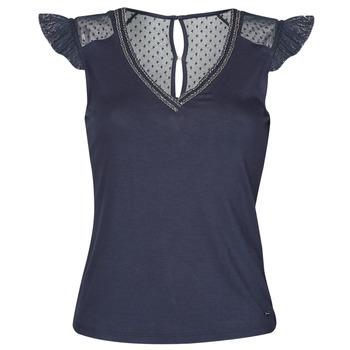 Clothing Women Short-sleeved t-shirts Morgan DUCHES Marine