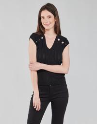 Clothing Women Tops / Blouses Morgan MDIDO Black