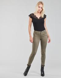Clothing Women 5-pocket trousers Morgan PETRA Thyme