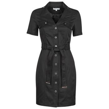 Clothing Women Short Dresses Morgan RVANYA Black