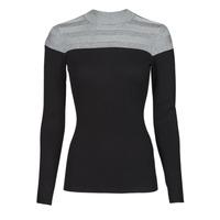 Clothing Women Jumpers Morgan MICO Grey / Black