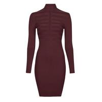 Clothing Women Short Dresses Morgan RMENTO Bordeaux