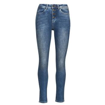 Clothing Women Slim jeans Freeman T.Porter MERYLE S-SDM Blue / Clear