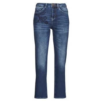Clothing Women Straight jeans Freeman T.Porter MONIKA SDM Blue