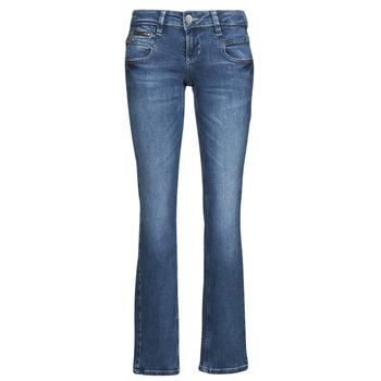 Clothing Women Straight jeans Freeman T.Porter ALEXA STRAIGHT SDM Blue / Dark