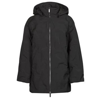 Clothing Women Duffel coats Emporio Armani 6K2B94 Black