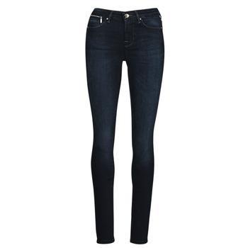 Clothing Women Slim jeans Only ONLISA Blue / Dark
