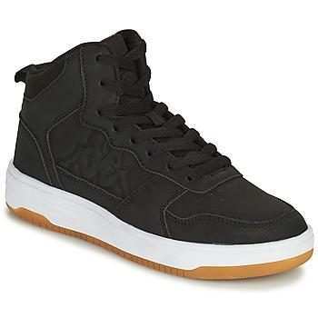 Shoes Boy Hi top trainers Kappa SEATTLE MID Black