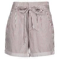 Clothing Women Shorts / Bermudas Vero Moda VMEVA White / Brown