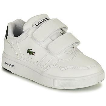 Shoes Children Low top trainers Lacoste T-CLIP 0121 1 SUI White