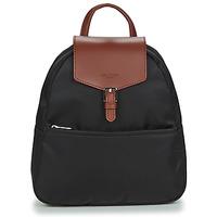 Bags Women Rucksacks Hexagona POP Black / Brown