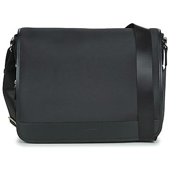 Bags Men Messenger bags Hexagona WORKER Black
