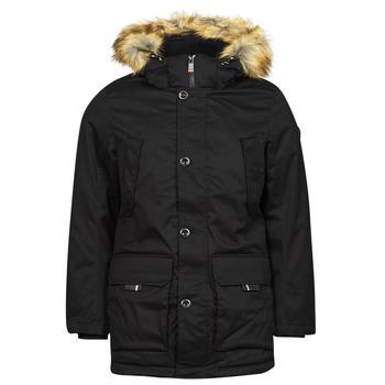 Clothing Men Parkas Tom Tailor 1026754 Black