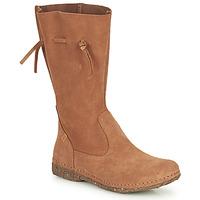 Shoes Women High boots El Naturalista ANGKOR Brown