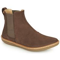 Shoes Women Mid boots El Naturalista CORAL Brown