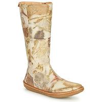 Shoes Women High boots El Naturalista CORAL Grey