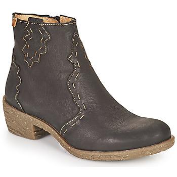 Shoes Women Ankle boots El Naturalista QUERA Black