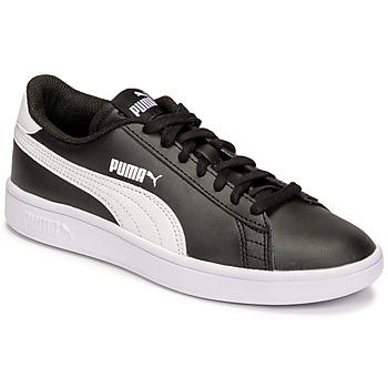 Shoes Children Low top trainers Puma SMASH JR Black