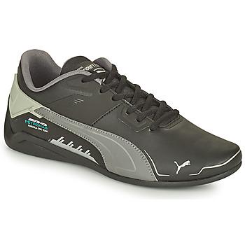 Shoes Men Low top trainers Puma MERCEDES DRIFTCAT Black / Grey