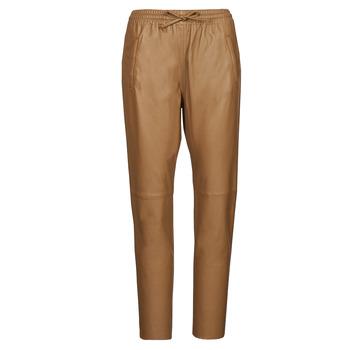 Clothing Women 5-pocket trousers Oakwood GIFT Camel