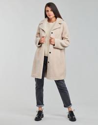 Clothing Women Coats Oakwood VENUS Beige