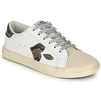 Shoes Women Low top trainers Le Temps des Cerises AUSTIN White