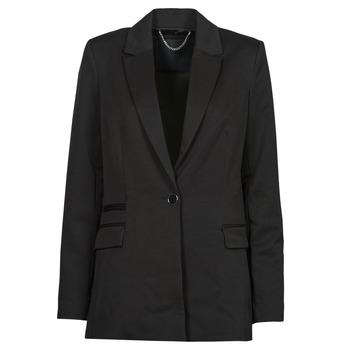 Clothing Women Jackets / Blazers Guess AIDA JACKET Black