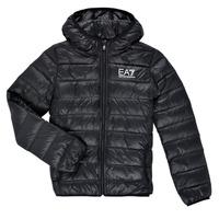 Clothing Boy Duffel coats Emporio Armani EA7 ANISTA Black