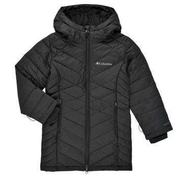 Clothing Girl Duffel coats Columbia HEAVENLY LONG JACKET Black