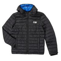 Clothing Boy Duffel coats Deeluxe MITCHUM Black