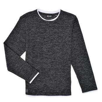 Clothing Boy Long sleeved tee-shirts Deeluxe MONAN Black