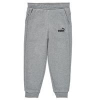 Clothing Boy Tracksuit bottoms Puma ESSENTIAL SLIM PANT Grey