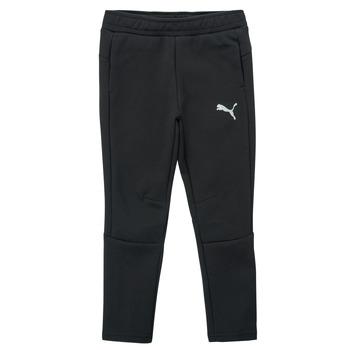 Clothing Boy Tracksuit bottoms Puma EVOSTRIPE PANT Black