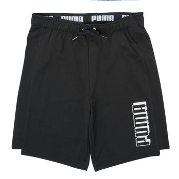 Clothing Boy Shorts / Bermudas Puma ALPHA SHORT Black