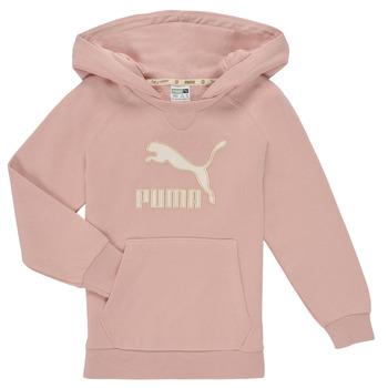 Clothing Girl Sweaters Puma T4C HOODIE Pink