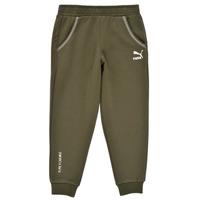 Clothing Boy Tracksuit bottoms Puma T4C SWEATPANT Kaki