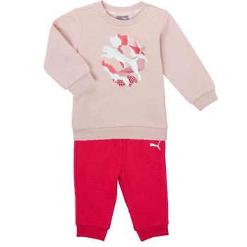 Clothing Girl Sets & Outfits Puma Minicats ALPHA Crew Jogger FL Pink