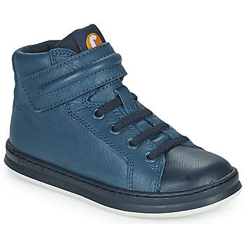 Shoes Children Hi top trainers Camper RUNNER Blue