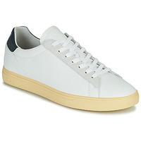 Shoes Men Low top trainers Clae BRADLEY CALIFORNIA White / Blue