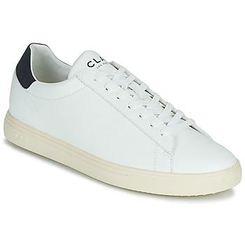 Shoes Low top trainers Clae BRADLEY VEGAN White / Blue