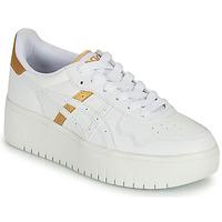Shoes Women Low top trainers Asics JAPAN PLATFORM White / Gold