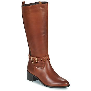 Shoes Women High boots Ravel LAJAS Camel