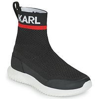 Shoes Boy Hi top trainers Karl Lagerfeld PELINDRA Black