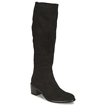 Shoes Women High boots Adige DIANE V1 CAMOSCIO NOIR Black