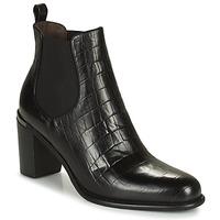 Shoes Women High boots Adige FANY V5 CAIMAN NOIR Black