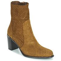Shoes Women High boots Adige FARA V2 ECAILLE NOIX Brown