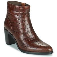Shoes Women High boots Adige IZEL V3 CAIMAN COGNAC Brown