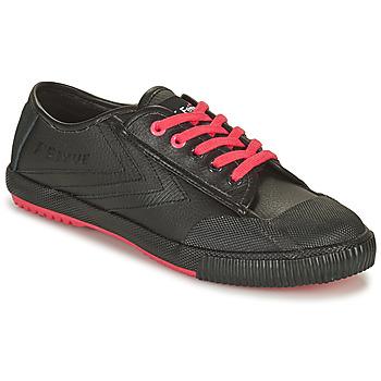Shoes Men Low top trainers Feiyue STAPLE X FE LO 1920 Black / Black