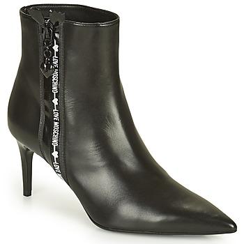 Shoes Women Mid boots Love Moschino JA21107G1D Black