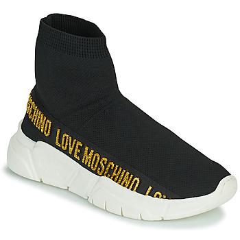 Shoes Women Hi top trainers Love Moschino JA15633G0D Black